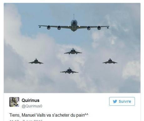 Valls prend l'avion