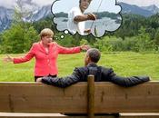 Détournements: Barack Obama Angela Merkel