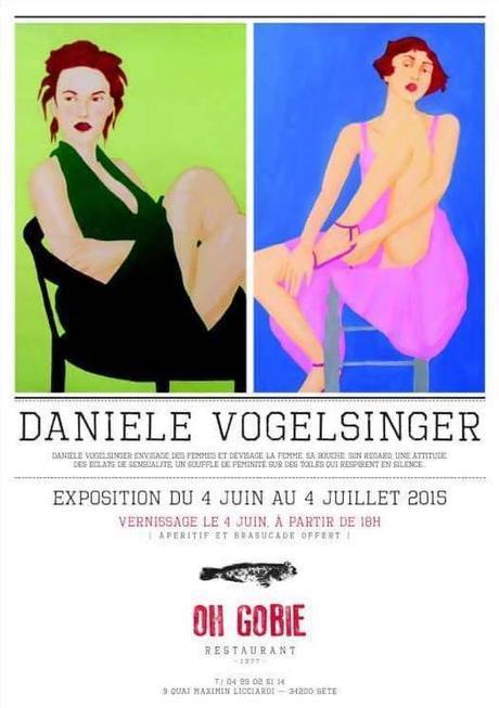 Exposition DANIELE VOGELSINGER à Sète