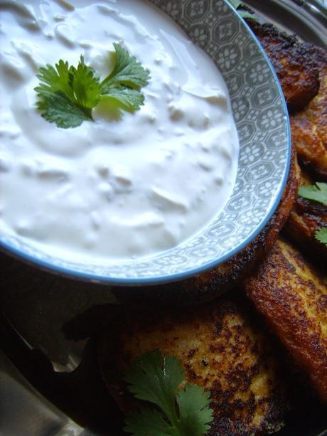 Beignets de chou-fleur grillé au Curry [Bataille Food #23]