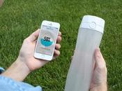 HydrateMe première bouteille d'eau intelligente