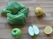 Paléo détox recette vert purifiant base chou pommes