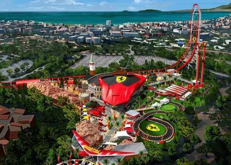 Le parc d'attractions Ferrari Land enfin en chantier