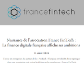 FinTech française s'organise