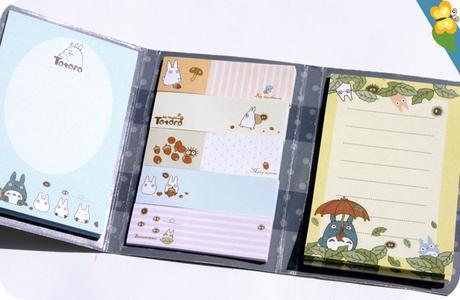 Minis post-it Totoro - Le Club des Sottes