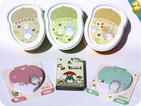 Bentos et Post-it Totoro - Le Club des Sottes