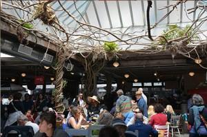 le gansevoort market à new york , un endroit branché et gourmand