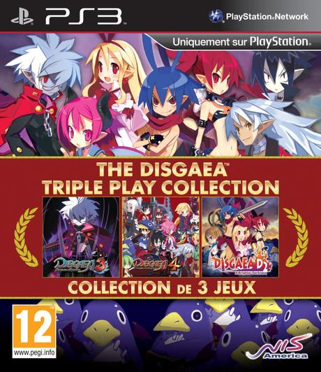 The Disgaea Triple Play Collection arrive en europe