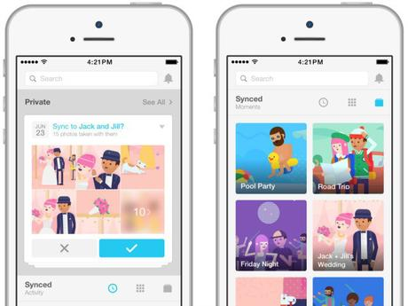Moments, la nouvelle App de partage de photos de Facebook