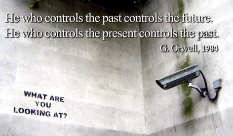orwell who controls past present future