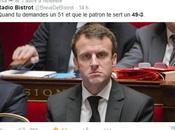 """""""Le 49-3 déni démocratie"""" F.Hollande"""
