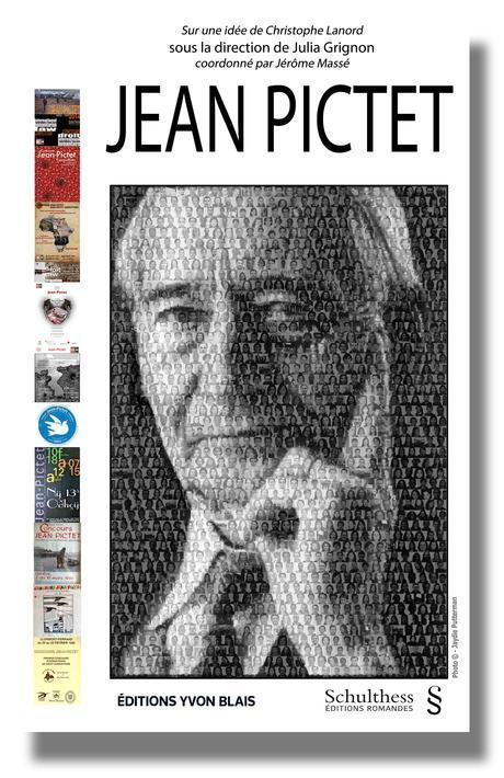 Le projet de couverture du livre consacré à Jean Pictet et pour lequel vous pouvez devenir souscripteur.