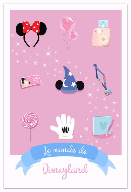 Illustrations Disney - Le Monde de...