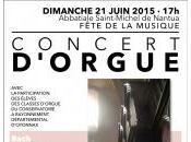 Fête musique concert d'orgue Nantua (Ain)