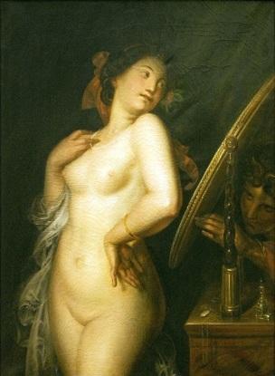 Antoine Wiertz-Le miroir du diable