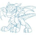 dessin de dragon