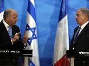 "Israël Netanyahu refuse, lors visite Fabius, tout ""diktat international"""