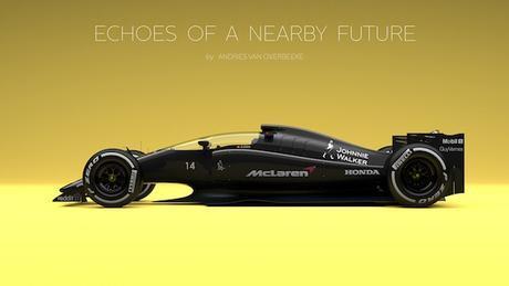 Voilà à quoi pourrait ressembler les F1 dans quelques années.