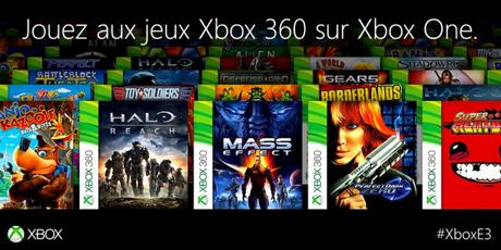 Jeux Retrocompatibles Xbox 360 Xbox One