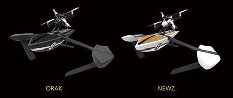 Les drones volants Hydrofoil de Parrot prêts à envahir les mers… ou presque
