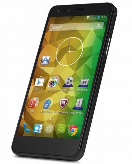 Nouveau smartphone Medion Life P5004, processeur octo-cœur à moins de 170 €