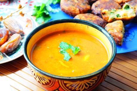 Harira Tchicha (soupe à la semoule d'orge)