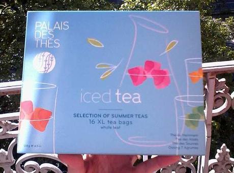 Un thé glacé pour l'été
