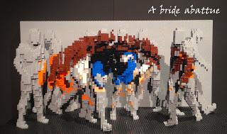 The Art of the Brick à Paris Expo, du 14 mai au 30 août