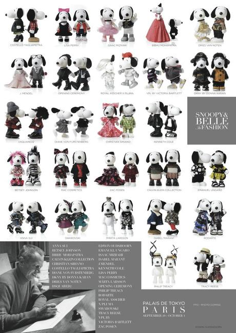 AFFICHE SNOOPY AND BELLE IN FASHION HD