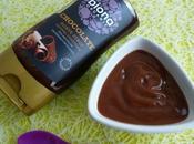 crème dessert sirop d'agave chocolat seulement kcal (diététique, allégée, végane, bas)
