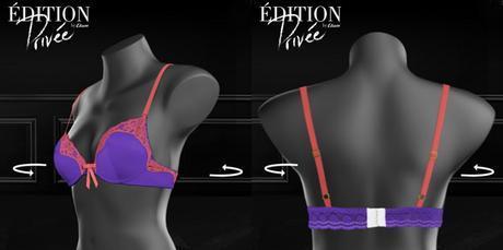 Etam- personnalisez votre lingerie