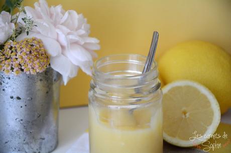 Lemoncurd {sans beurre}