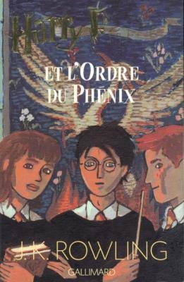 Couverture Harry Potter, tome 5 : Harry Potter et l'Ordre du Phénix