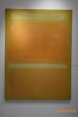 Mark Rothko, Yellow, orange, Yellow, Light Orange, 1955, sans titre