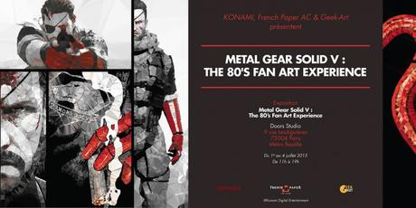 Metal Gear Solid V : The Phantom Pain, une expo à Paris !