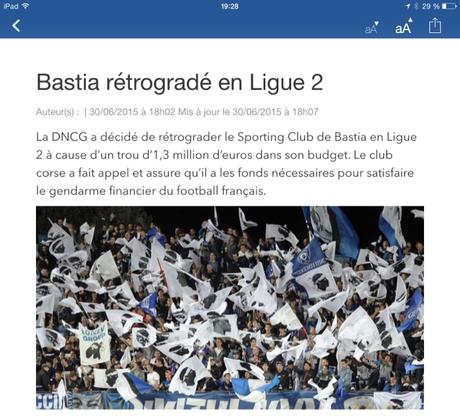 Football français pourri #Bastia