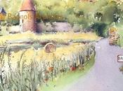 19ème festival aquarellistes Bagnols Beaujolais