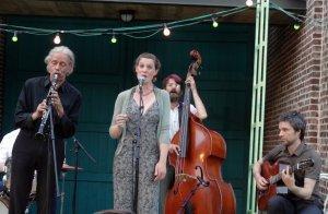 Zomercafé swingt: Swingzapoppin ( Nomad Swing +The Dipsy Doodles) - Kasteelhoeve, Dilbeek- le 30 juin 2015