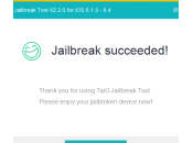 Tutoriel Jailbreak 8.4, 8.3, 8.2, 8.1.3 iPhone, iPad iPod Touch (TaiG Windows)