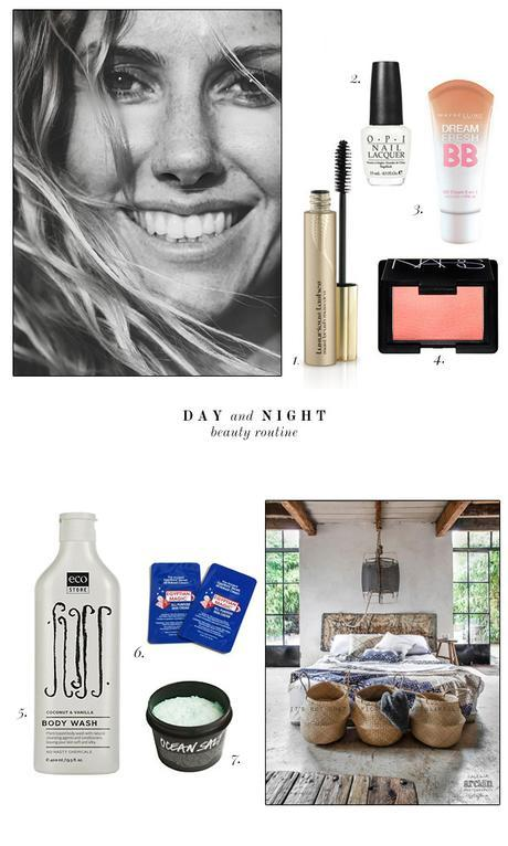 Day and night, roadtrip beauty routine