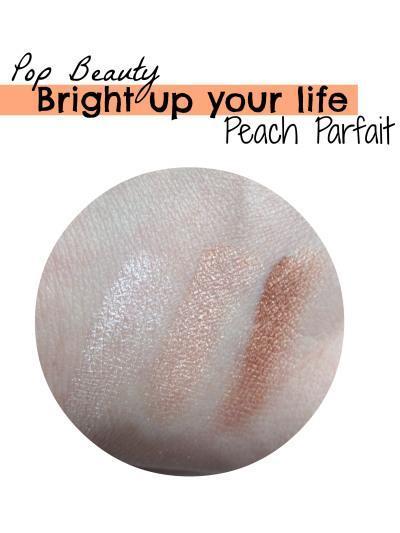 swatch pop beauty peach parfait