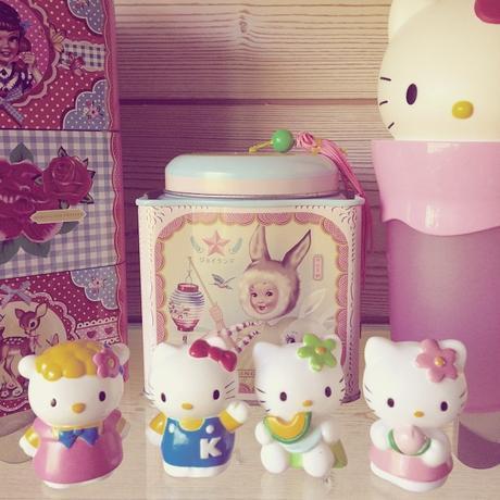 Figurines Hello Kitty
