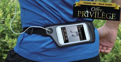 Offre privilège : -60% sur le brassard et la pochette de jogging pour iPhone et autres
