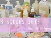 Soldes 2015 butin hygiène beauté