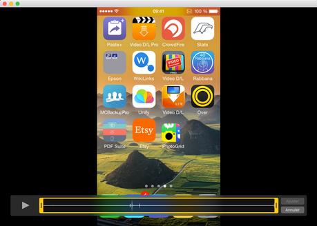 Voila 3.9 enregistre les écrans des iPhone et iPad!
