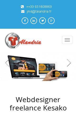 talandria mobile friendly et responsive design