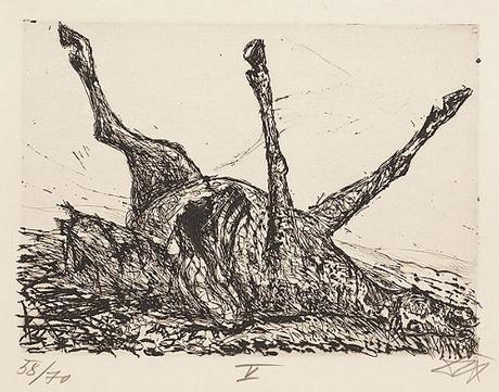 Spielberg-Cheval de guerre-OTTO DIX-CorpseOfAHorse-1924