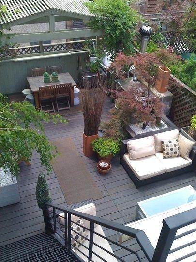 Decorer sa terrasse des ides pour amnager une petite for Decorer sa terrasse exterieure