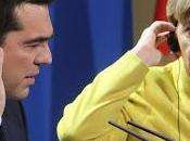 Grèce: Angela Merkel, l'arbre cache forêt petits européens.