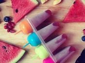 Mercredis gourmands Sorbet maison fruits rouges watermelon & popsicles
